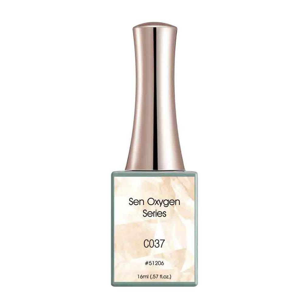Oja Semipermanenta Canni, Cold Gray - Sen Oxygen, 16 Ml, C037 imagine produs