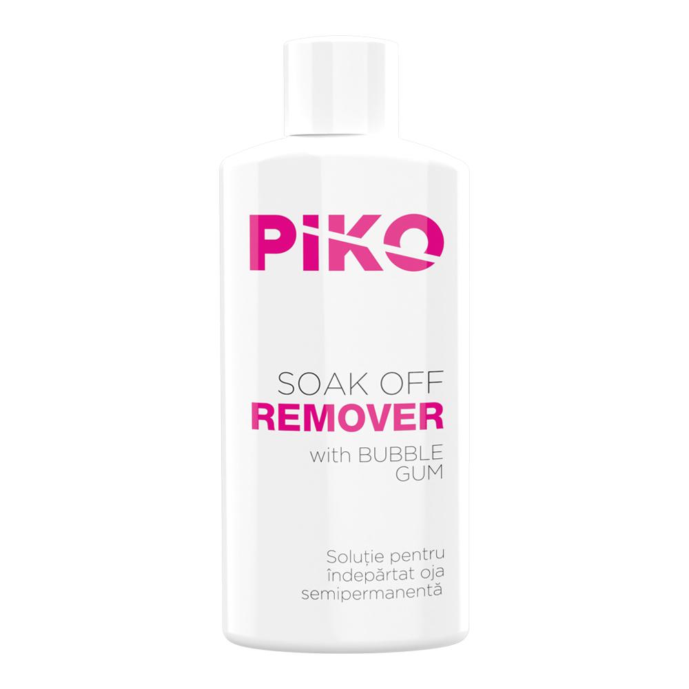 Solutie Pentru Indepartarea Ojelor Semipermanente Sau Gelurilor Soak Off, Piko, Bubble Gum, 50 Ml imagine produs