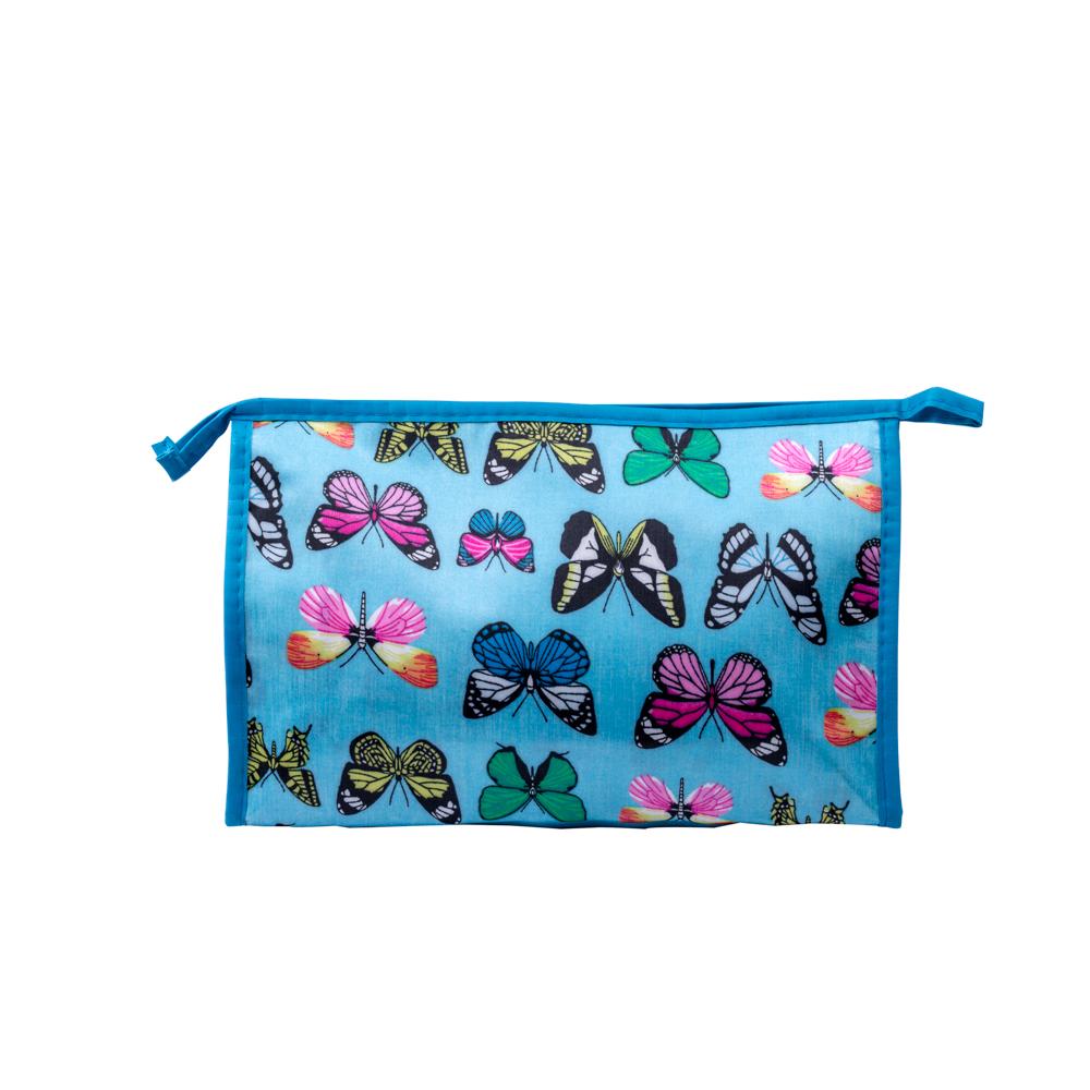 Portfard mic Butterfly - albastru