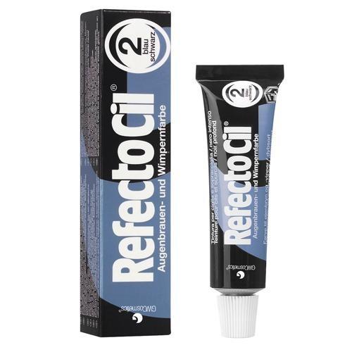 RefectoCil vopsea de gene si sprancene 2 blue black 15ml