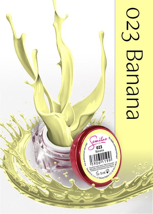 Gel Uv Color Semilac, Banana 023 imagine produs