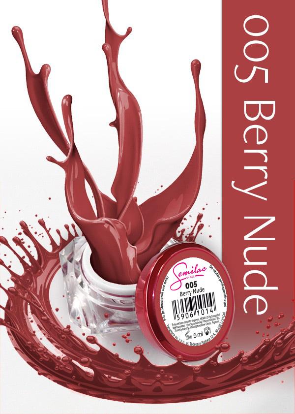 Gel Uv Color Semilac, Berry Nude 005 imagine produs