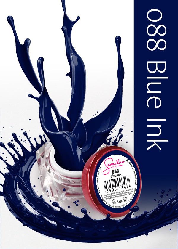Gel Uv Color Semilac, Blue Ink 088 imagine produs