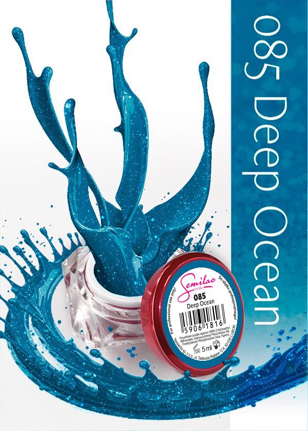 Gel Uv Color Semilac, Deep Ocean 085 imagine produs