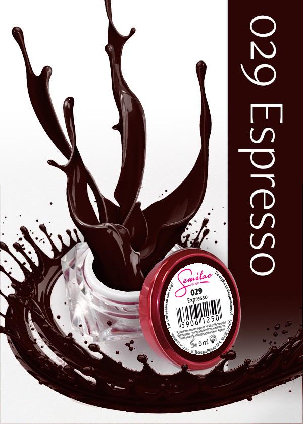 Gel Uv Color Semilac, Espresso 029 imagine produs