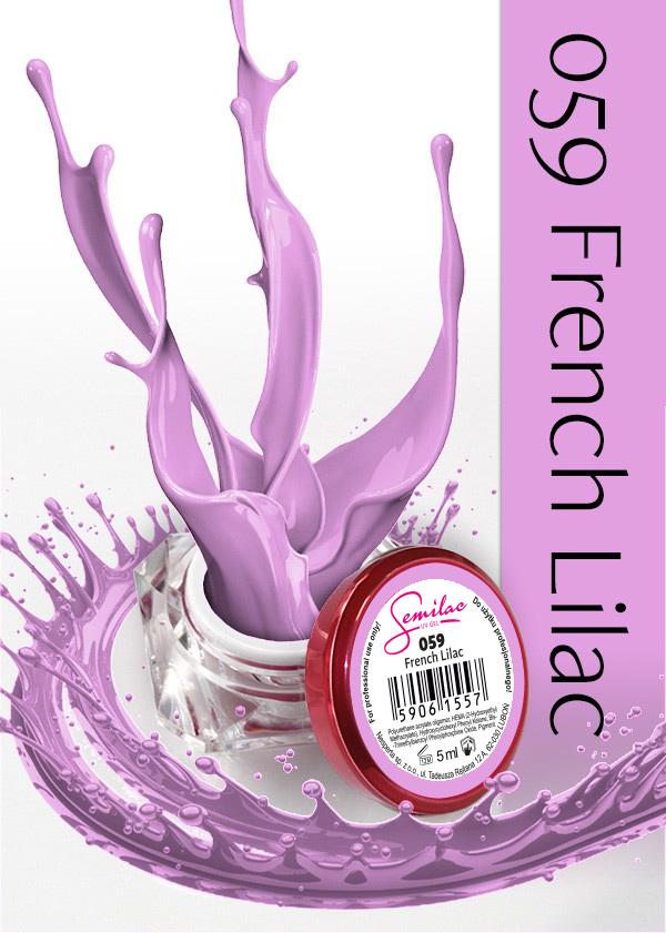 Gel Uv Color Semilac, French Lilac 059 imagine produs