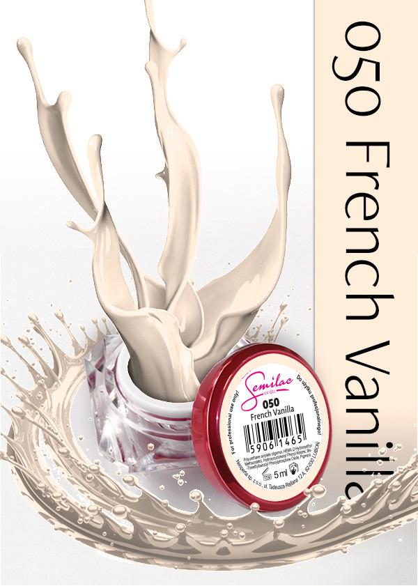 Gel Uv Color Semilac, French Vanilla 050 imagine produs