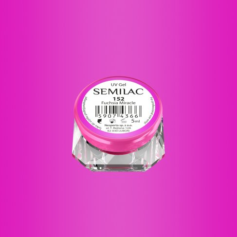 Gel Uv Color Semilac, Fuchsia Miracle 152 imagine produs