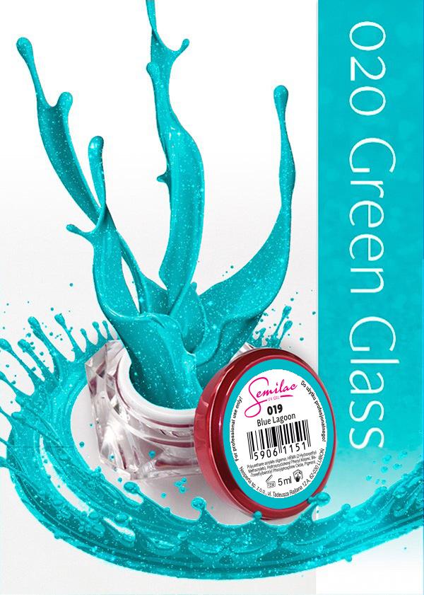 Gel Uv Color Semilac, Green Glass 020 imagine produs