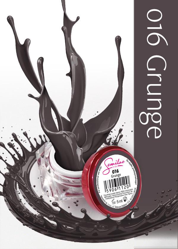 Gel Uv Color Semilac, Grunge 016 imagine produs