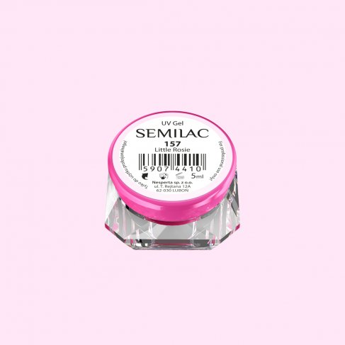 Gel Uv Color Semilac, Little Rosie 157 imagine produs