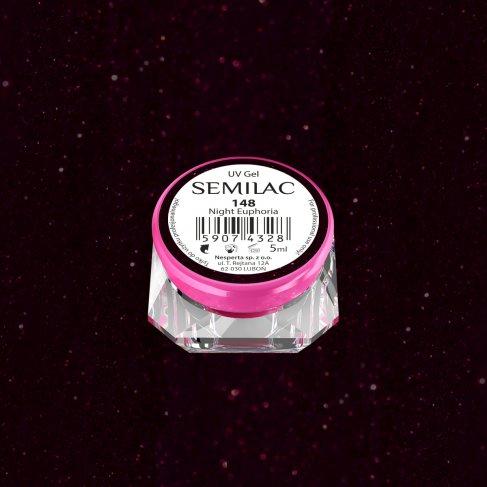 Gel Uv Color Semilac, Night Euphoria 148 imagine produs