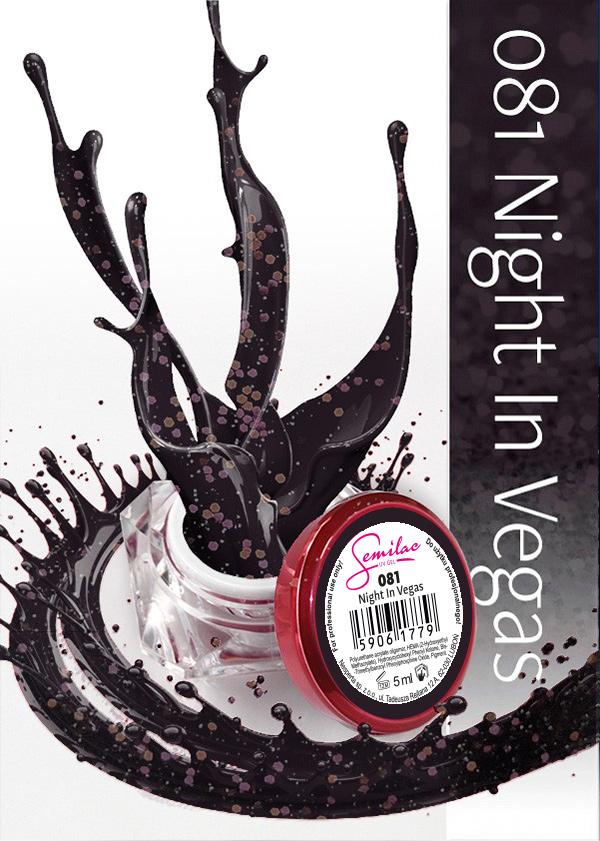 Gel Uv Color Semilac, Night In Vegas 081 imagine produs