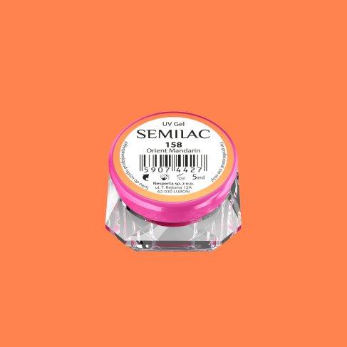 Gel Uv Color Semilac, Orient Manadarin 158 imagine produs