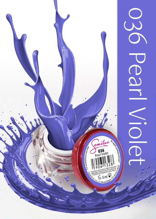 Gel Uv Color Semilac, Pearl Violet 036 imagine produs