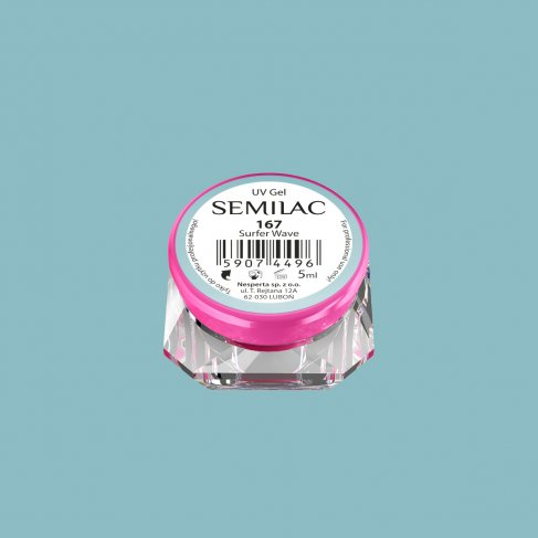 Gel Uv Color Semilac, Surfer Wave 167 imagine produs