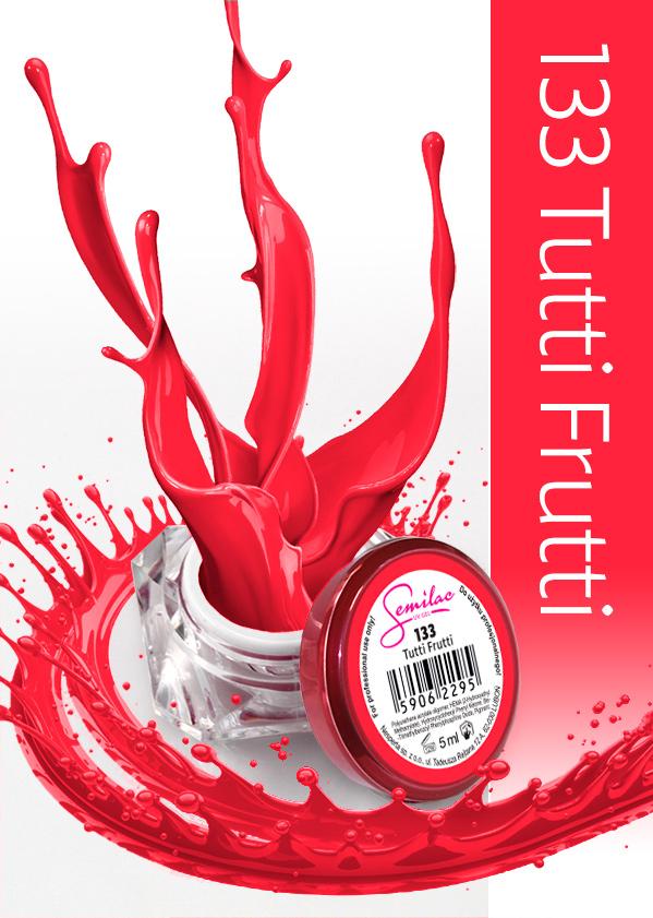 Gel Uv Color Semilac, Tutti Frutti 133 imagine produs
