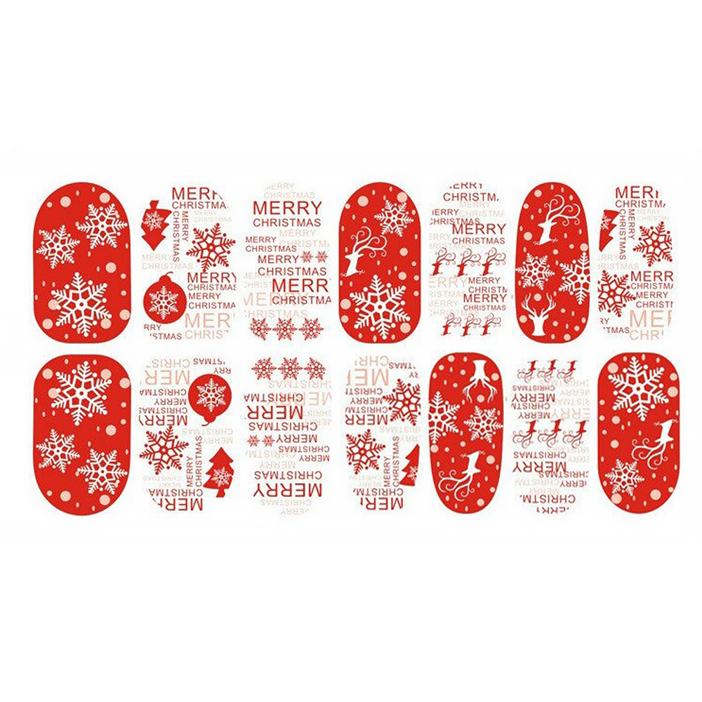 Sticker Pentru Unghii Nail Art, Lila Rossa, 14 In 1, Nr 167 imagine produs