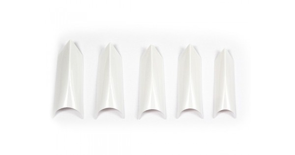 Tipsuri 100buc Edge White imagine produs