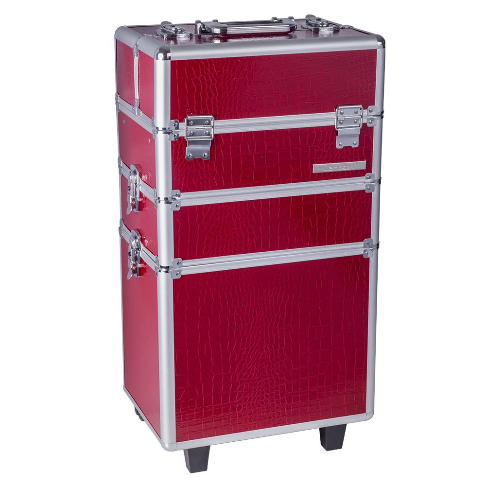 Troler Mare Cosmetice Red Sensation - Rosu - Lila Rossa imagine produs