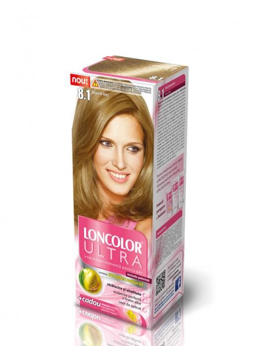Vopsea Par Oxidant Vopsea Par Loncolor Ultra 81 Blond Bej