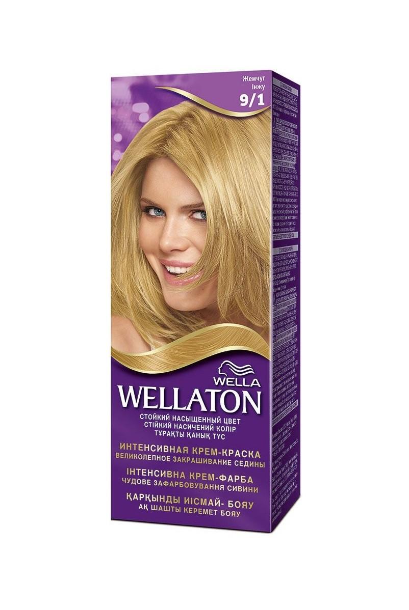 Blond platinat vopsea wella