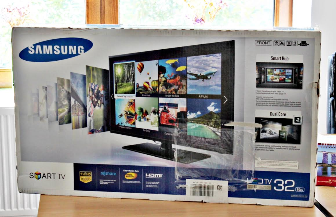 Câştigă un televizor Samsung!