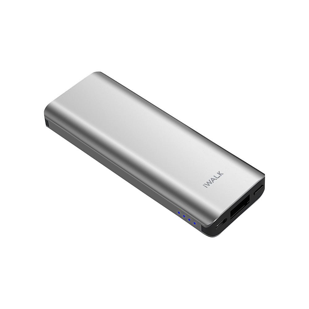 Acumulator extern argintiu, 3000 mAh, iWalk Chic
