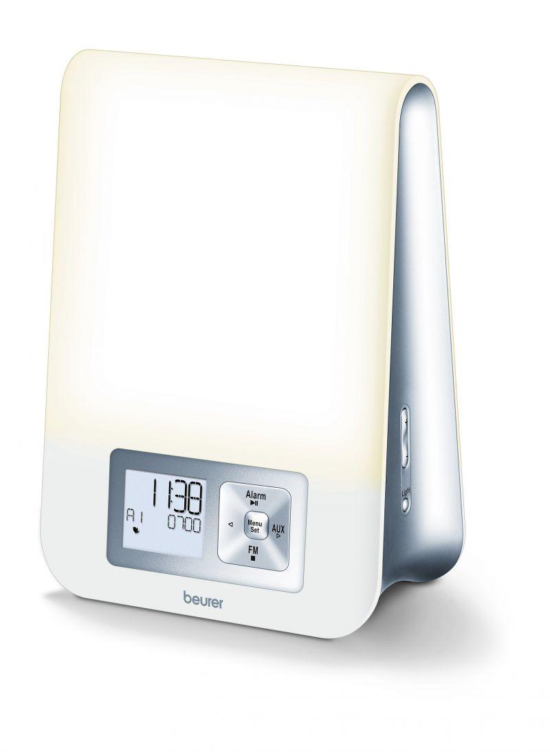 Ceas deșteptător cu lampă Beurer WL70