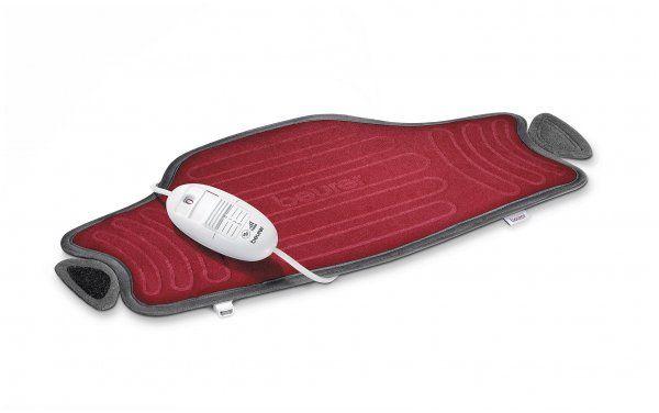 Centură cu încălzire pentru abdomen şi spate Beurer HK 55 Easyfix gri 100 W