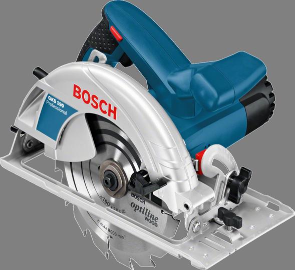Fierăstrău circular profesional Bosch GKS 190, 1400 W, 70 mm