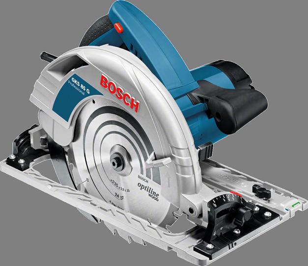 Fierăstrău circular profesional Bosch GKS 85 G, 2200 W, 85 mm