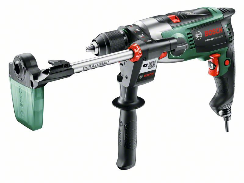 Mașină de găurit cu percuție Bosch AdvancedImpact 900, 2850 rpm + Drill Assistant