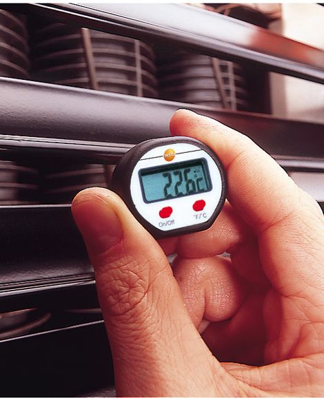 Mini-termometru digital de penetrare/imersie testo