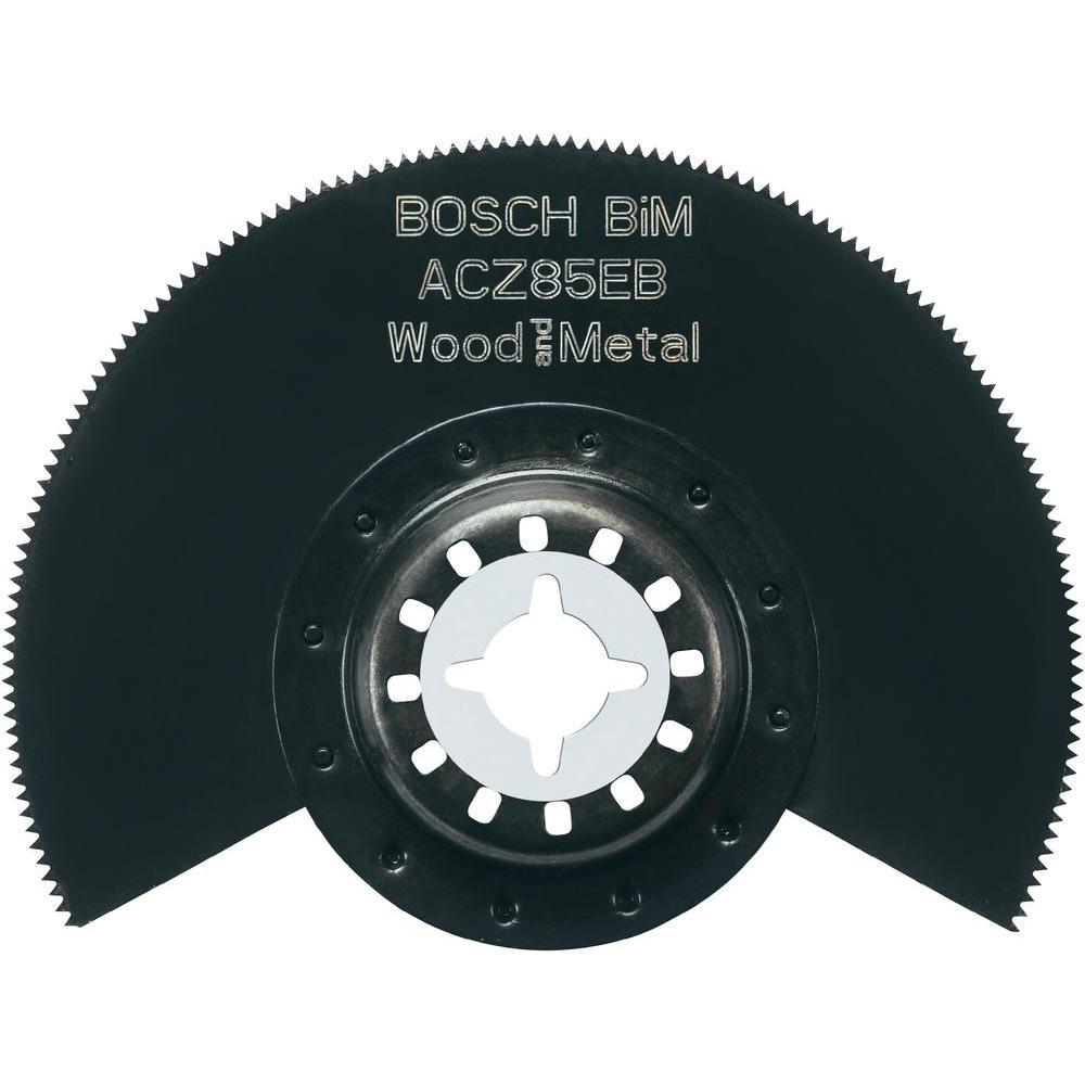Pânză de fierăstrău segmentată pentru lemn şi metal, Ø 85 mm, Bosch ACZ 85 EB