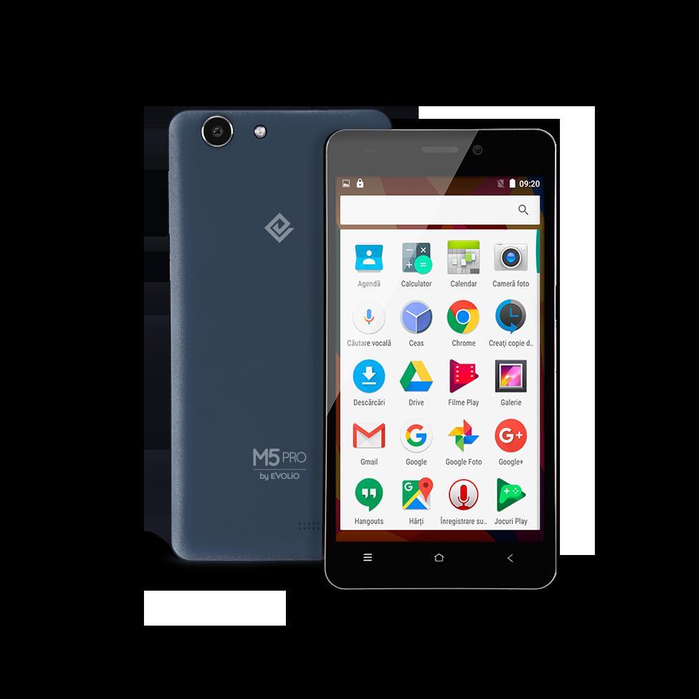 Smartphone Evolio M5 Pro, Dual SIM