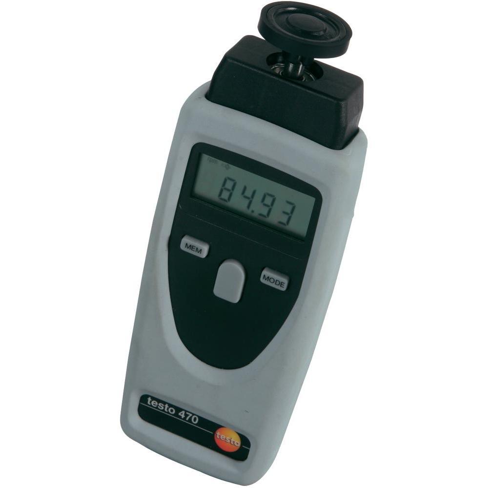 Tahometru testo 470, optic şi mecanic