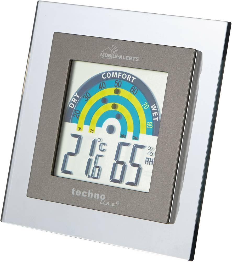 Termohigrometru cu indicator zonă de confort Mobile Alerts MA10230 Techno Line