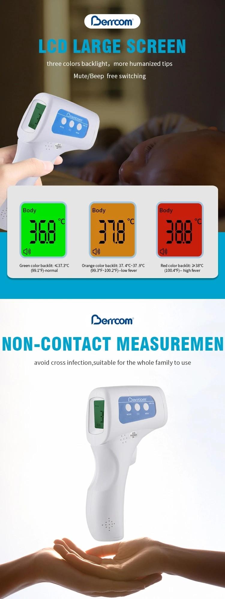 Termometru IR măsurare non-contact pentru frunte BERRCOM JXB-178