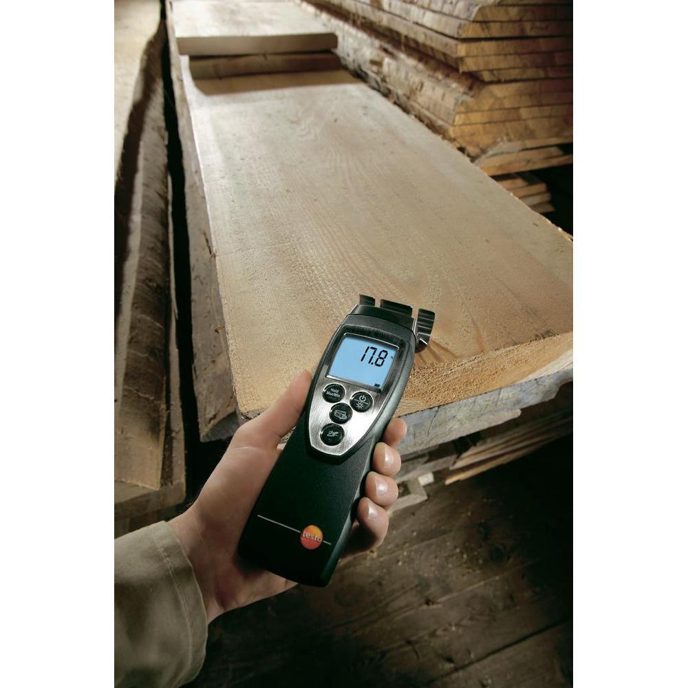 Umidometru pentru lemn şi materiale de construcţii testo 616