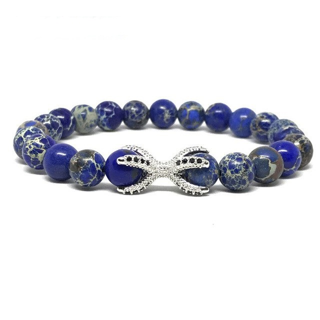 Brooks Blue Terra Design Agate