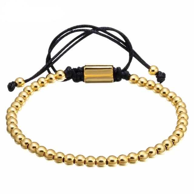 Brooks Gold 14K Bead Bracelet