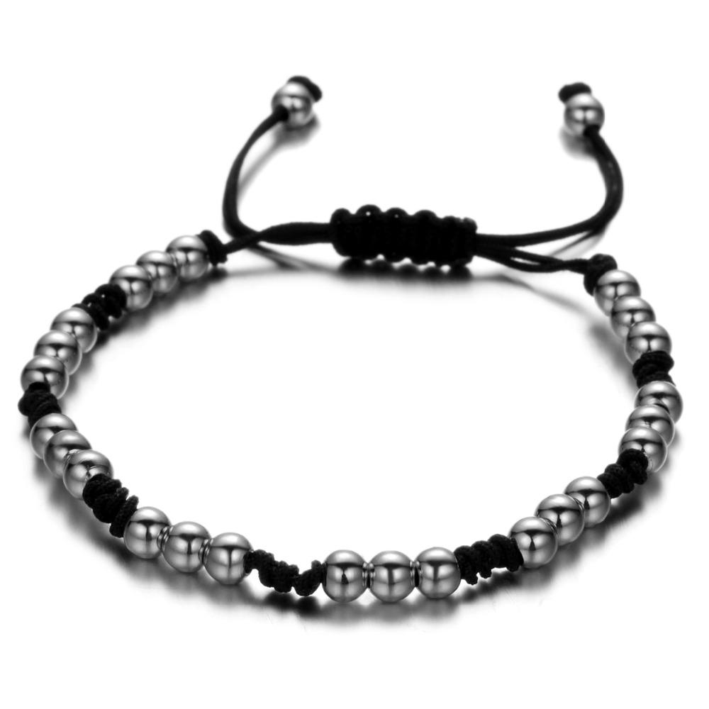 Brooks Macrame Beads Bracelet GOLD