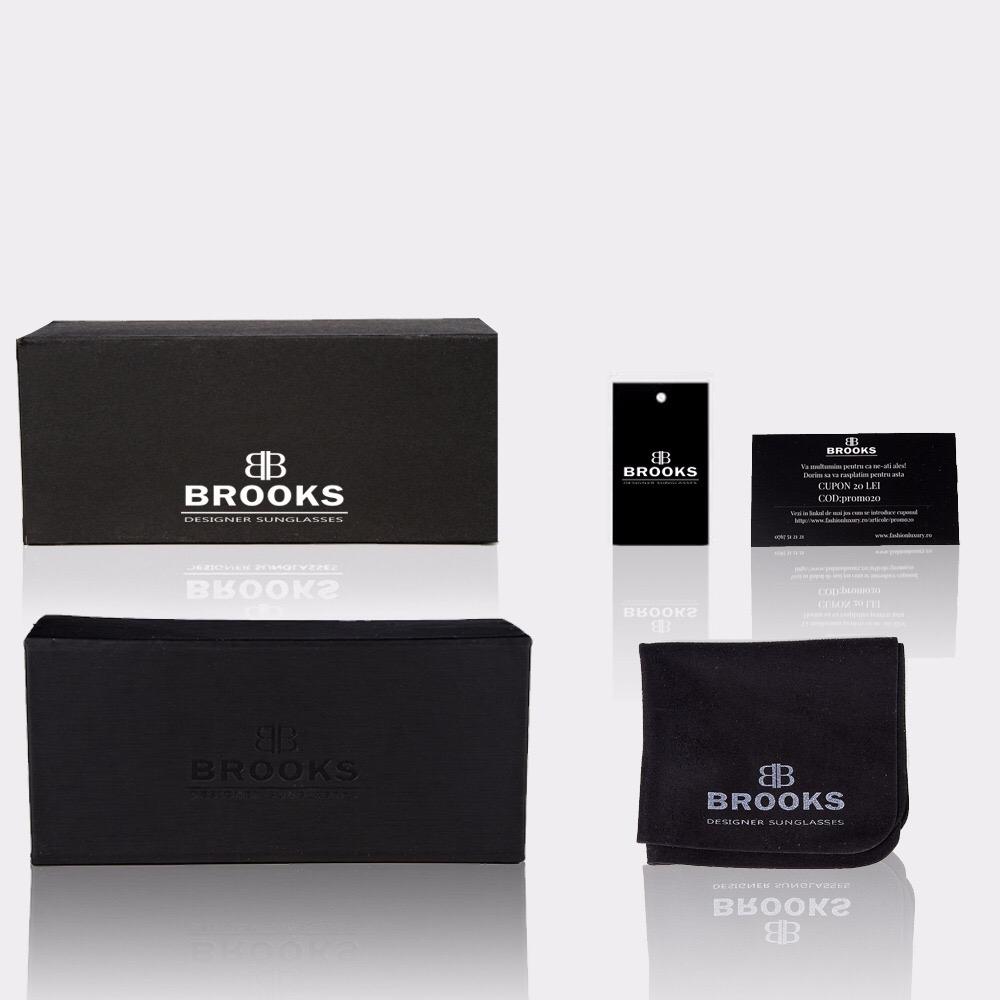 BROOKS SQUARE FENDYSA BLACK