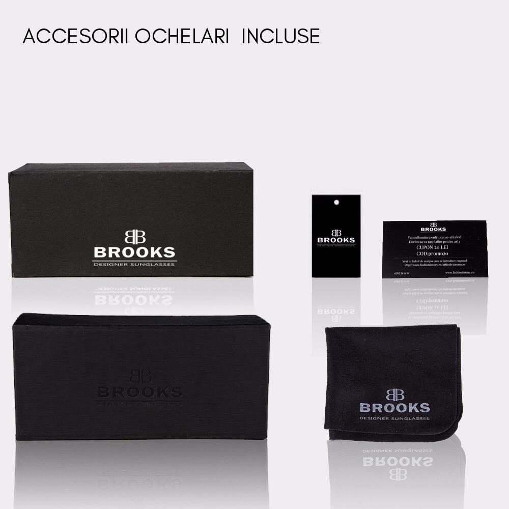 BROOKS HEXAGON ARROW ARMS