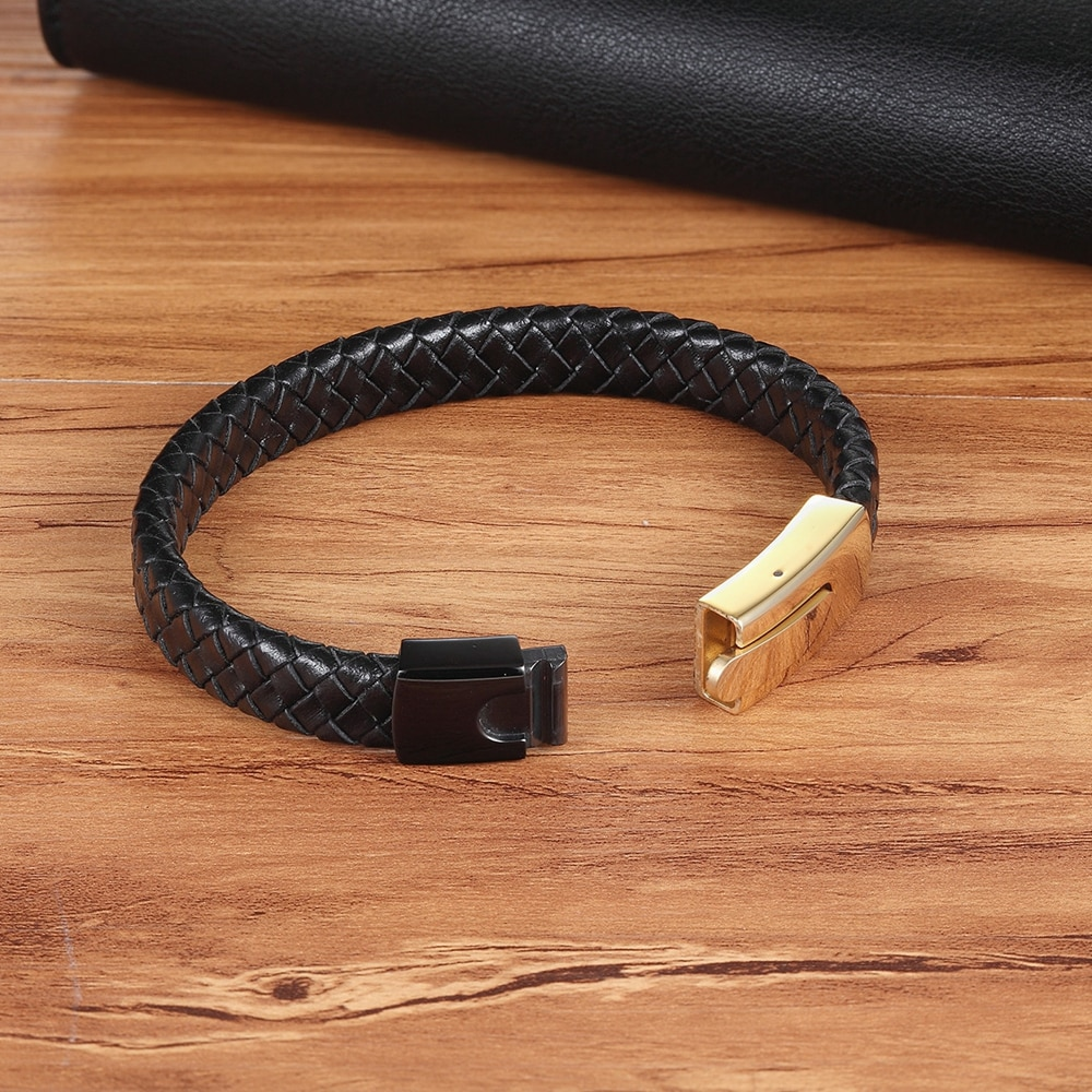 Brooks Leather Luxury Clasp