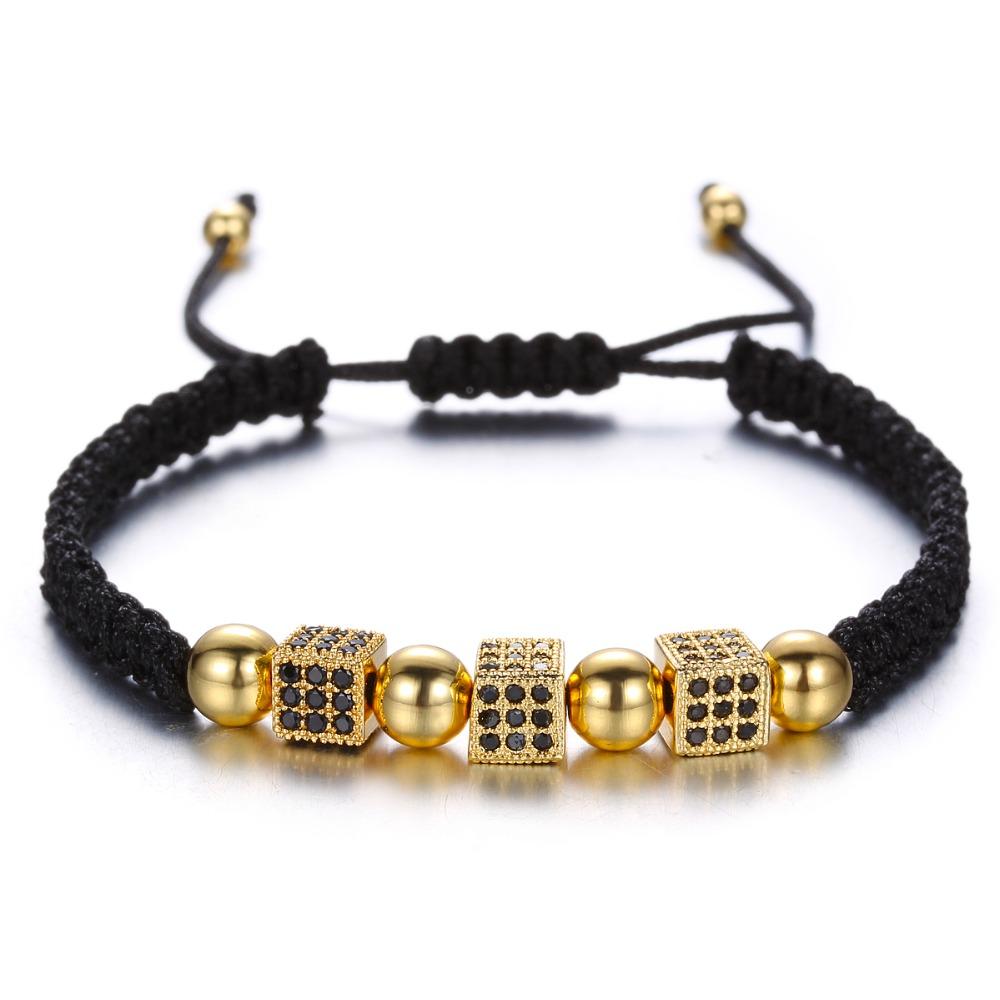 Brooks Lucky Dice Woman Bracelet GOLD