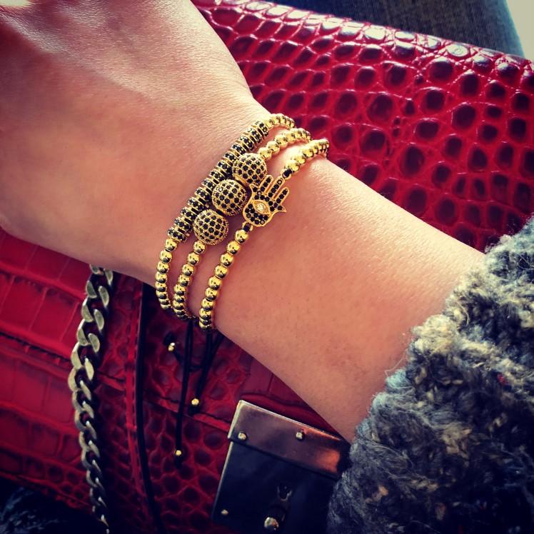 Brooks Luxury Set Fatima Bracelet