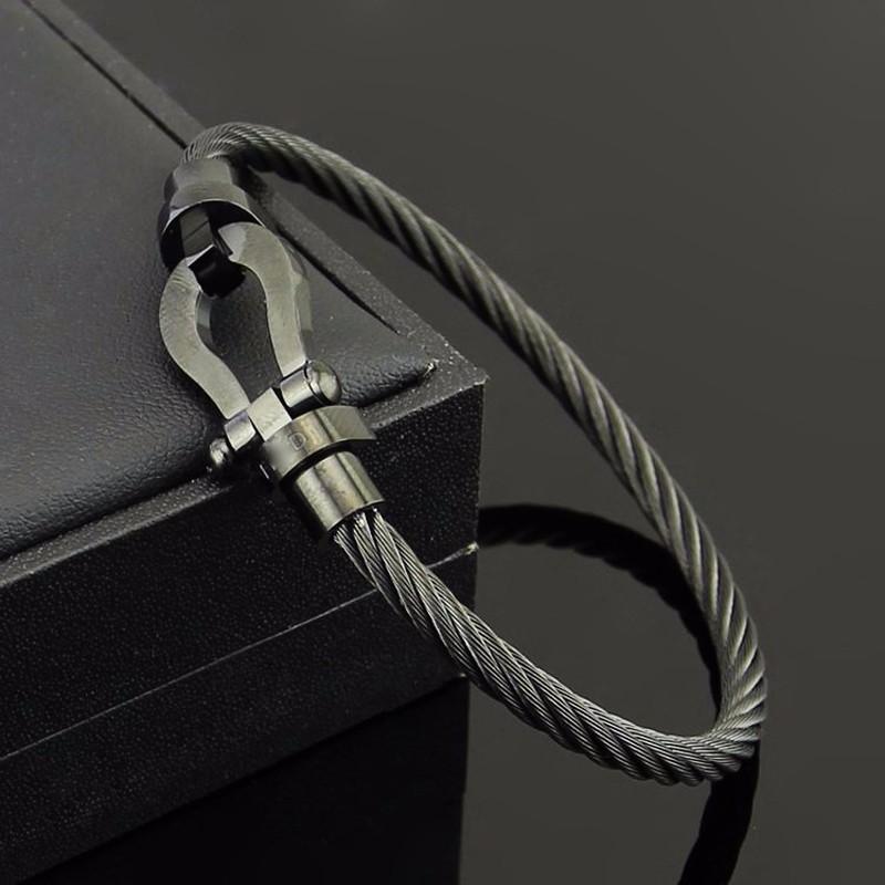 Brooks Anchor Black Bracelet 19 CM