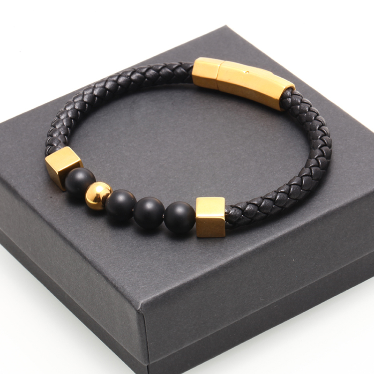 Brooks Gold Stoppers Woman Bracelet